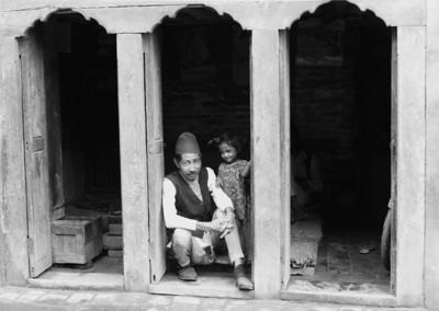Grand father - Kathmandu Nepal 1974
