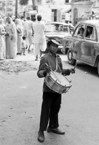 The little drummer - Jaipur India, 1974