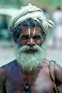Sadhu - Hogenakkal, India, 1973