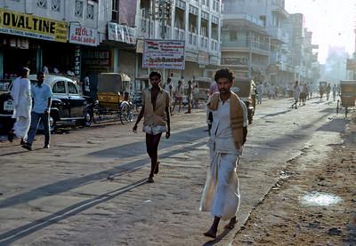 Sun rise in Madurai - India, 1973