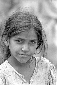 Girl in Delhi - India, 1974