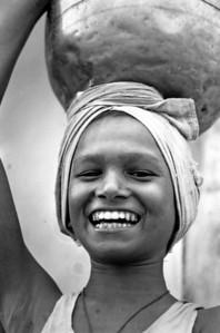 A big smile - Varanasi India, 1974