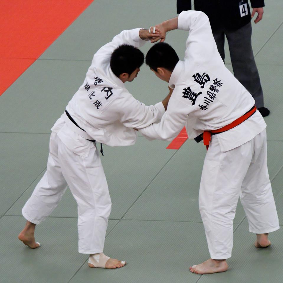 Dancing ? - All-Japan judo championships 2008 (Zennihon judo senshuken taikai)  Budokan, Tokyo 29 April 2008 Japan