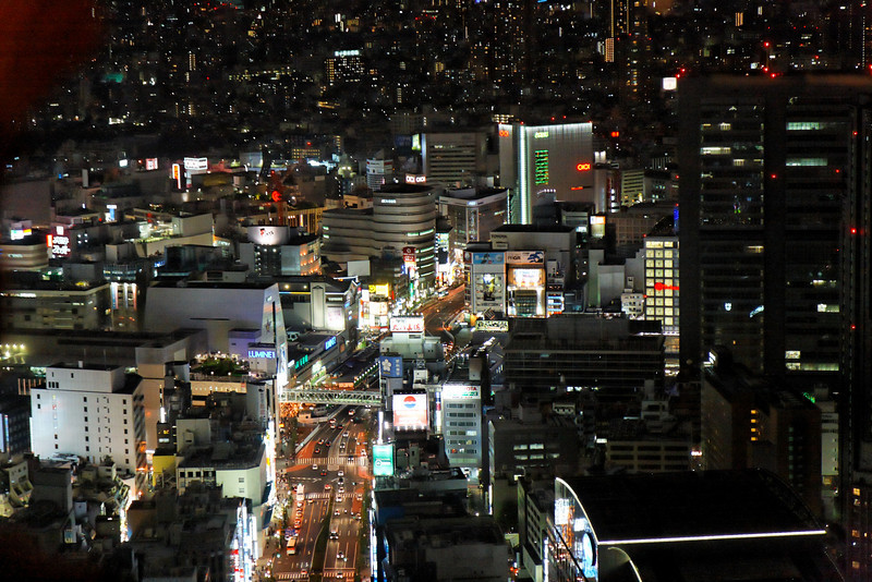 """City lights - As seen from the Hyatt New York bar made famous by the movie """"Lost in translation"""".Tokyo ShinjukuJapan, May 2008"""