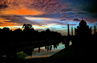 Taj Mahal - India, 1974