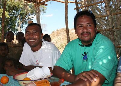 Michel et Lalaina - Madagascar 2005