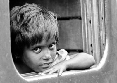 In the train - India 1974