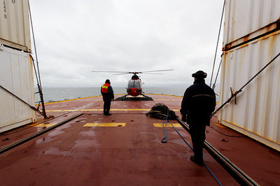 Safely on board - MALINA cruise, Beaufort Sea, August 2009