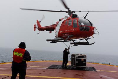 Critical timing - MALINA cruise, Beaufort Sea, August 2009