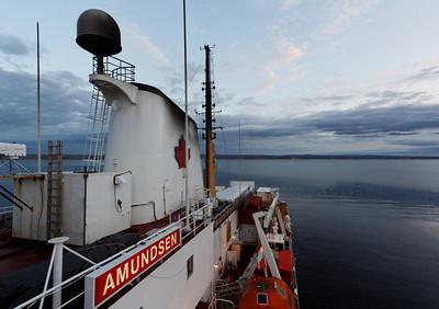 In front of Paulatuk - MALINA cruise, Beaufort Sea, August 2009
