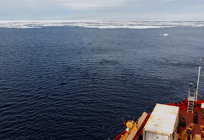 Approaching the ice pack - MALINA cruise, Beaufort Sea, August 2009