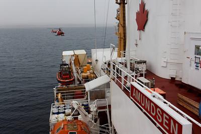Landing - MALINA cruise, Beaufort Sea, August 2009