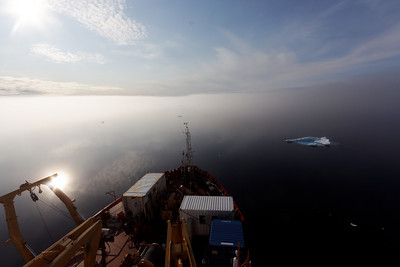 Surreal light - MALINA cruise, Beaufort Sea, August 2009