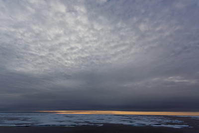 Arctic skies - MALINA cruise, Beaufort Sea, August 2009
