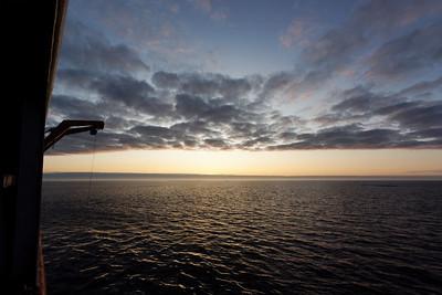 Glorious sun rise - MALINA cruise, Beaufort Sea, August 2009