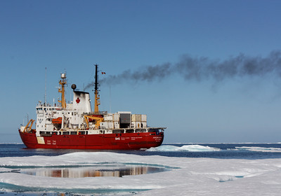 The Amundsen - MALINA cruise, Beaufort Sea, August 2009