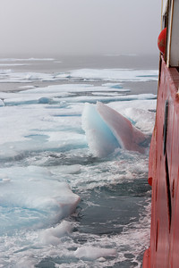 Ice breaker - MALINA cruise, Beaufort Sea, August 2009