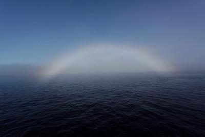 Arctic rainbow - MALINA cruise, Beaufort Sea, August 2009