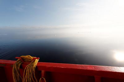 Quiet seas in the arctic - MALINA cruise, Beaufort Sea, August 2009