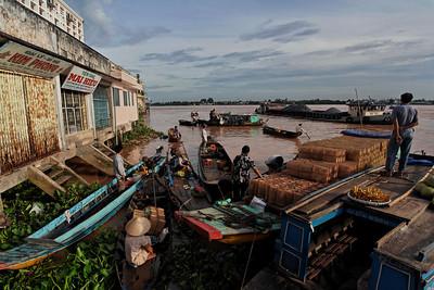 The Mekong - Vinh Long Market, Vietnam, August 2006
