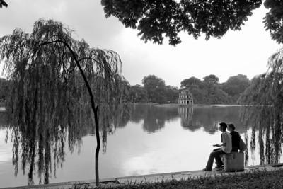 Hoàn Ki?m lake - Hanoi, Vietnam, Jul-Aug 2006