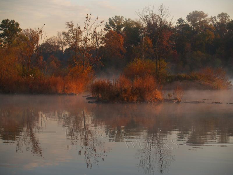 #66 - Heller Road Pond in Dawn Mist