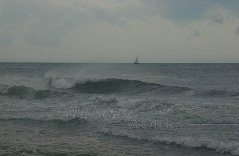 #84 - Stormy Sailing, Ocean Grove NJ