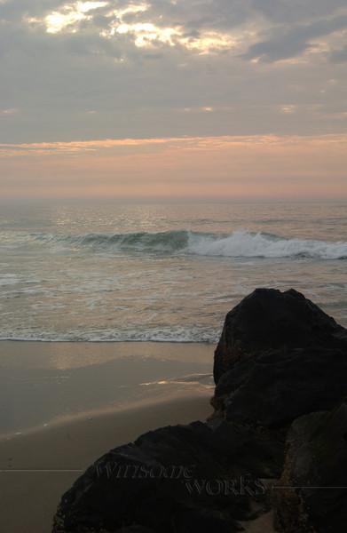 #88 - Ocean Grove Rock Jetty at Dawn III