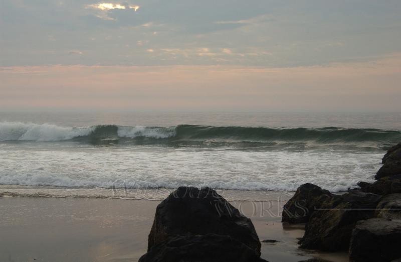 #90 -  Ocean Grove Rock Jetty at Dawn V