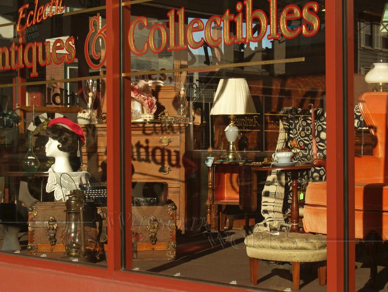 #4 - Antiques Shop Window, Quakertown