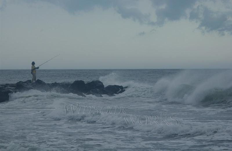 #82 - Fisherman at Ocean Grove, NJ