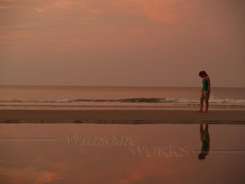 #39 -  Lydia in Sunrise at Hunting Island