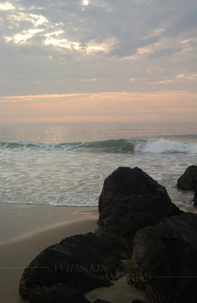#89 -  Ocean Grove Rock Jetty at Dawn IV