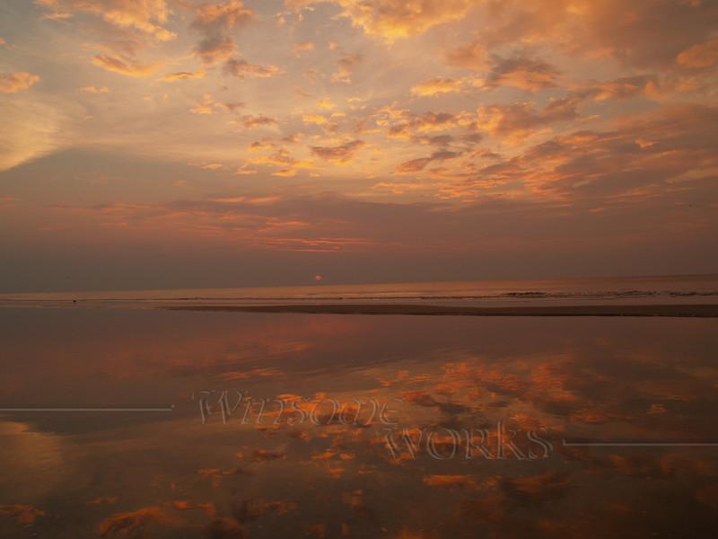 #43 - Wide Angle Sunrise at Hunting Island