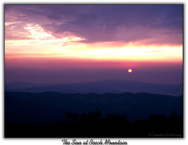 The Sun at Beech Mt