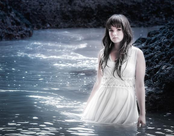 Into the forgiving sea