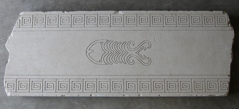 Greek Key with Fish