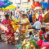 Fruit Stands, KR Market - Bangalore, India