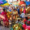 Fruit Stands, KR Market - Bangalore, India