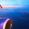 Over LA - Southwest Airlines