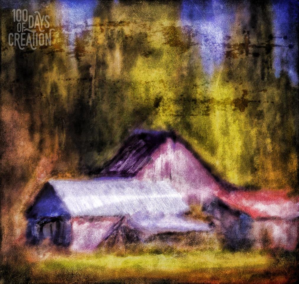 """Day 25 - venticinque ~ Digital painting, 6""""x6"""""""