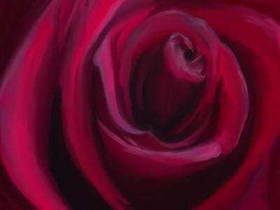 Day 003 - Birthday Rose