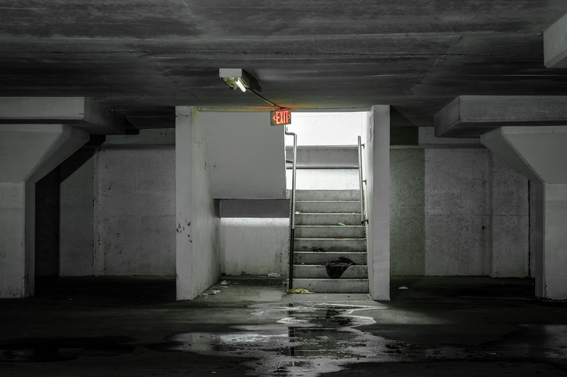 Exit Stairs