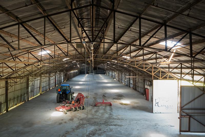 Empty Glass Factory Floor 3
