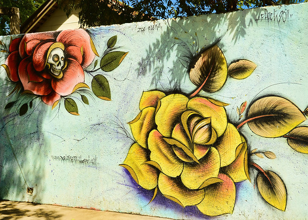 Hand Painted Wall Art From Nicaragua