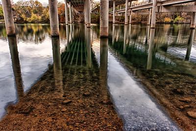 Town Lake under MoPac