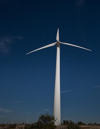 West Texas wind generators