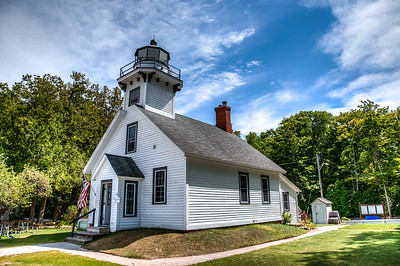 Another view of the Old Mission Lighthouse, Grand Traverse Penninsula, Michigan