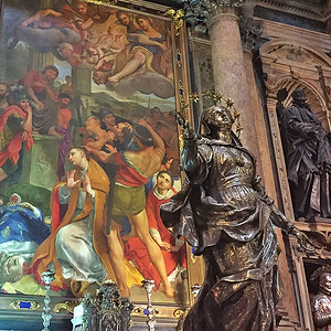 Royal Chapel of the Treasure of San Gennaro, Napoli, Italy