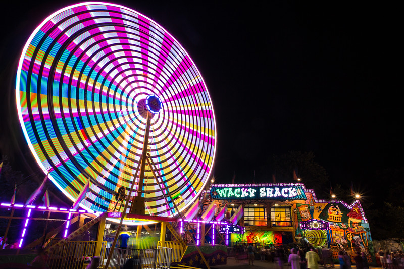 Ferris Wheel & Wacky Shack